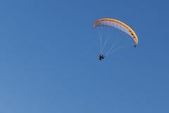 Paragliding  in Oludeniz Royalty Free Stock Photos