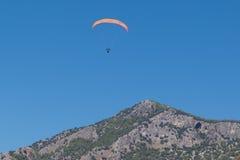 Paragliding  in Oludeniz Stock Image