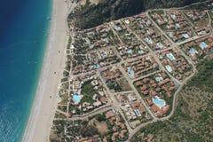 Paragliding Oludeniz stock image