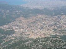 Paragliding Oludeniz royalty free stock images