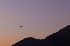 Paragliding in Oludeniz, Turkey Stock Photography