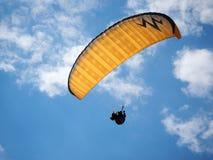 Paragliding royalty free stock photo