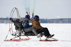 Paragliding psto fotos de stock royalty free