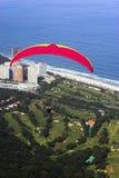 paragliding rio de janeiro Стоковые Фотографии RF