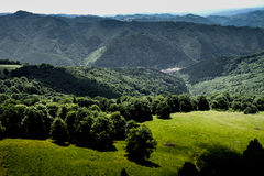 Paragliding in Romania Royalty Free Stock Image