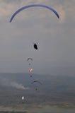 Paragliding rywalizacja w wonogiri, Indonezja zdjęcia royalty free