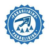 Paragliding sport Stock Photography