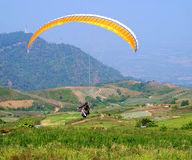 Paragliding sport Stock Photo