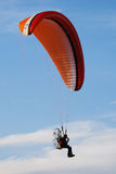 Paragliding sport Stock Images