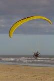 paragliding zasilający zdjęcie stock