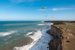 Paragliding1 Lizenzfreie Stockfotografie