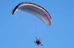 Paraglidingcloseupsikt Royaltyfri Foto