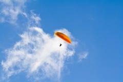 paraglidingpilot Royaltyfria Bilder