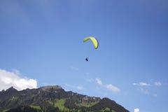 Paragliging Immagini Stock