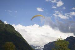 Paragliging Fotografie Stock