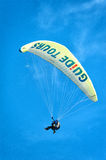 Paraglinding in oludeniz Turkey Royalty Free Stock Images