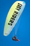 Paraglinding in oludeniz Turkey Stock Photos