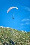 Paraglinding in oludeniz Turkey Royalty Free Stock Photos