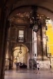 PARAGRAFEN VAN EUROPA PORTUGAL LISSABON DOEN COMERCIO Stock Afbeeldingen