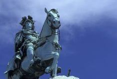 PARAGRAFEN VAN EUROPA PORTUGAL LISSABON DOEN COMERCIO Royalty-vrije Stock Afbeeldingen