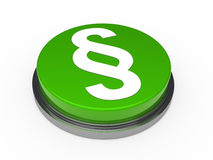 Paragraph button Royalty Free Stock Image