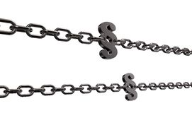 Paragraph chains Stock Photos