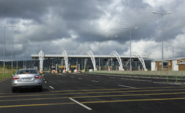 Paragraph fares on toll road in Ireland Stock Photography