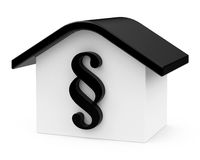 The paragraph house Stock Photo