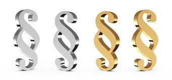 Paragraph sign Royalty Free Stock Photo