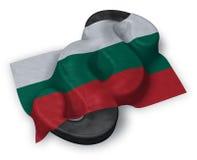 Paragraph symbol and flag of bulgaria Stock Photo