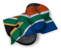 Paragraph symbol and flag of south africa Royalty Free Stock Photography