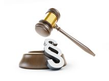 Paragraph Symbol law Stock Images