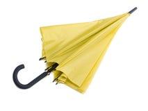 Paraguas amarillo Fotos de archivo