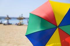 Paraguas asoleado Imagen de archivo libre de regalías