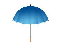 Paraguas azul libre illustration