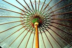 Paraguas chino imagen de archivo