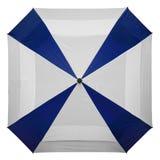 Paraguas cuadrado de la capa doble Imágenes de archivo libres de regalías