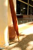 Paraguas de Brown Fotografía de archivo libre de regalías
