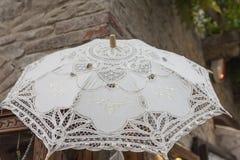 Paraguas de encaje Foto de archivo libre de regalías