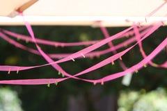 Paraguas de la lona Imagen de archivo libre de regalías