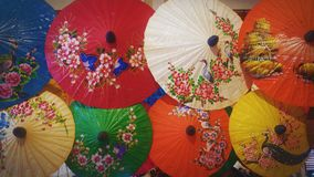 Paraguas de Lanna fotos de archivo