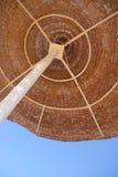 Paraguas de madera Foto de archivo libre de regalías