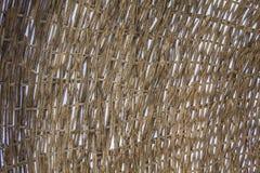 Paraguas de mimbre Imágenes de archivo libres de regalías