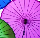 Paraguas de Oilpaper imagen de archivo