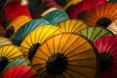 Paraguas de papel Fotos de archivo libres de regalías