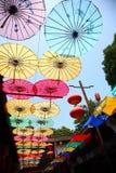 Paraguas de papel chino de jiangnan Fotografía de archivo