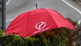 Paraguas de Perodua Fotografía de archivo libre de regalías