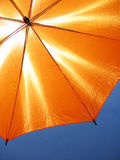 Paraguas de Sun Foto de archivo libre de regalías