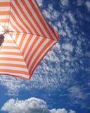 Paraguas de Sun Imágenes de archivo libres de regalías