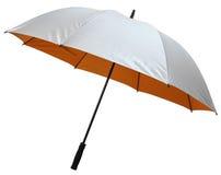 Paraguas de una sola capa del golf Fotos de archivo libres de regalías